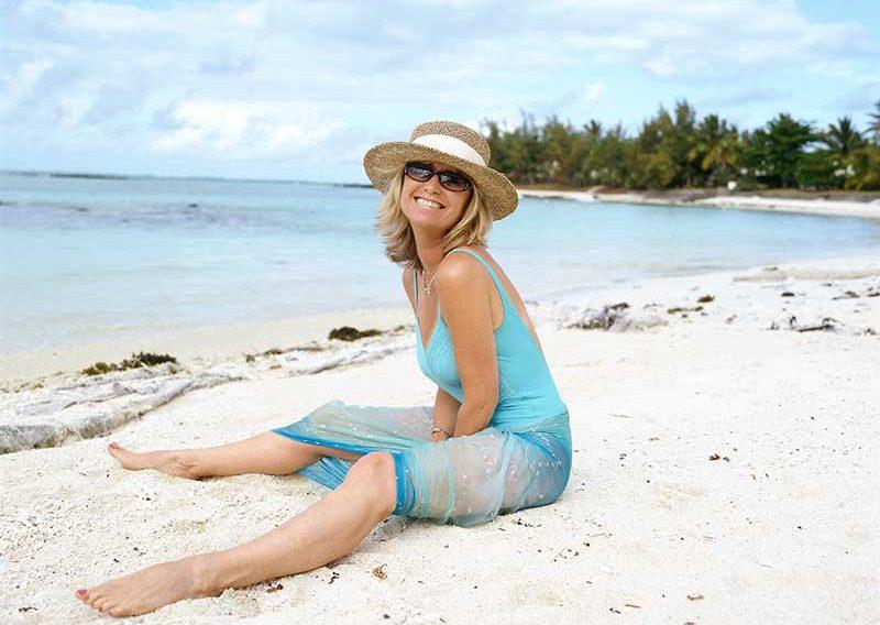 susan-sat-on-beach
